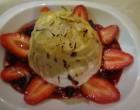 Omelette norvégienne aux fraises ©GP