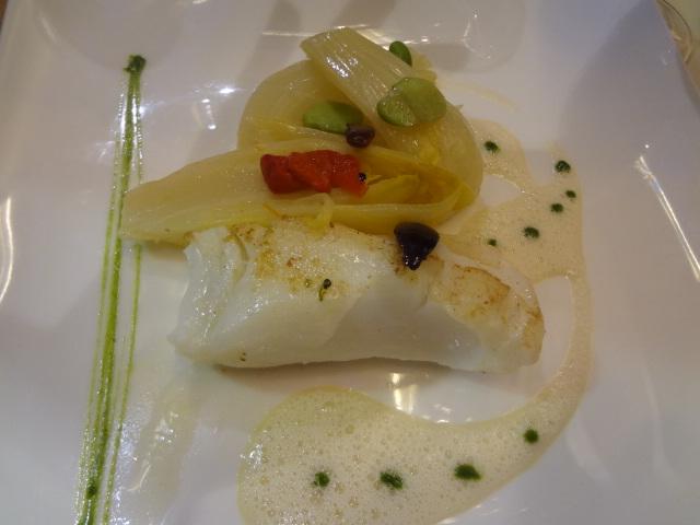 Axuria restaurant paris 15e axuria paris 15e le bon for Cabillaud fenouil