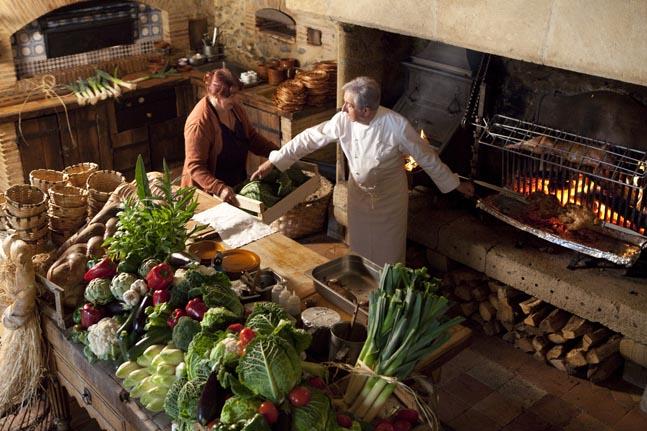 La Ferme aux Grives, restaurant Eugénie-les-Bains - exquise Ferme ...