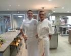 Sébastien et Michel Bras en cuisine © GP