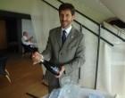 Sergio et le champagne © GP