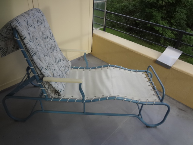 Chaise longue 1930 for Chaise longue tours