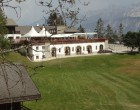 La terrasse du Cervin vue du sentier vers Plans-Mayens ©GP