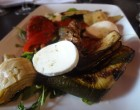 Légumes grillés et mozzarella © GP
