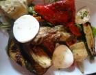 Légumes grillés et mozzarella ©GP