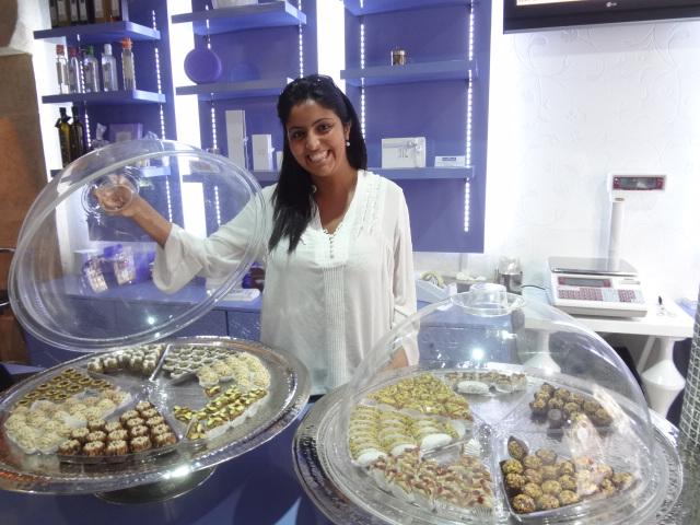 Les jolis gâteaux tunisiens de Masmoudi (Paris 3e) »