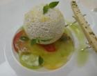 Tomates anciennes givrées, en tartare, en carpaccio ©GP