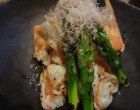 Crevettes grilles aux asperges GP