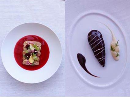Les cray res restaurant reims philippe mille les - Jardin des crayeres menu ...