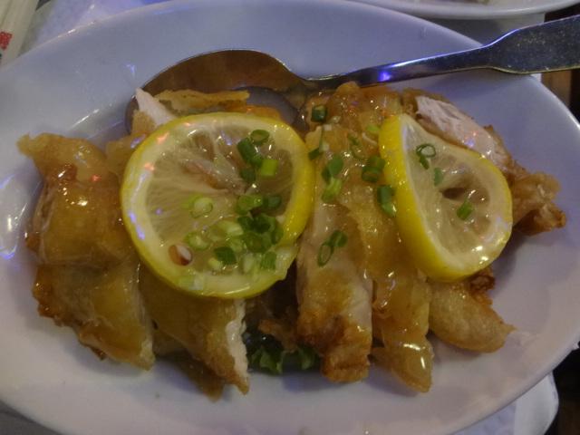 Poulet croustillant au citron ©GP