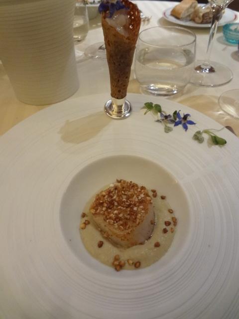 Coquille Saint Jacques en croûte de sarrasin © GP