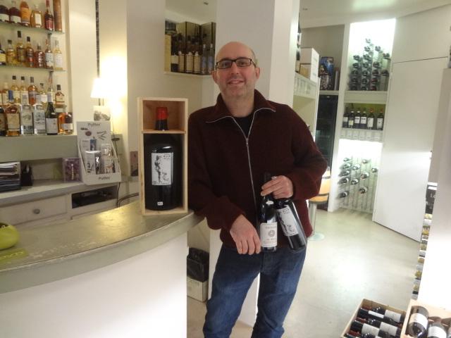 Romain et ses vins ©GP