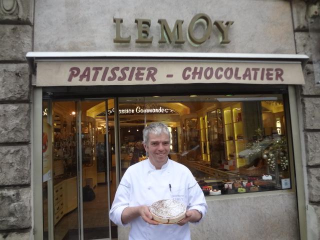 "Jean-Charles Lemoy et son ""ambassadeur de Lorraine"" © GP"