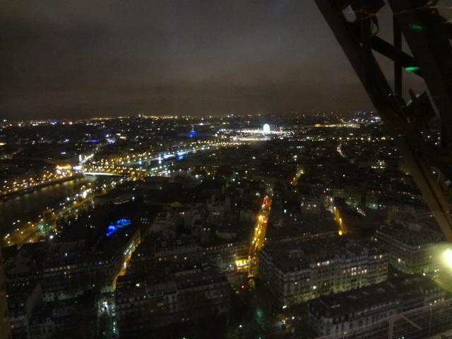 La vue depuis le Jules Verne © GP