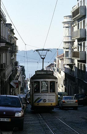Le tramway ©Maurice Rougemont