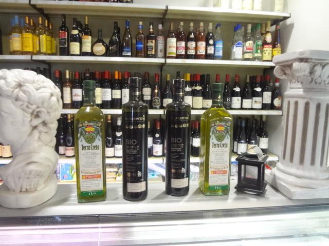 Huiles d'olive de Crète ©GP