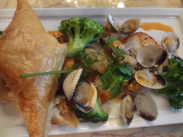 Feuillet de fruits de mer ©GP