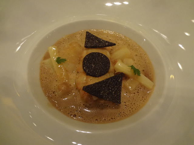 Langoustines sauce bisque © GP