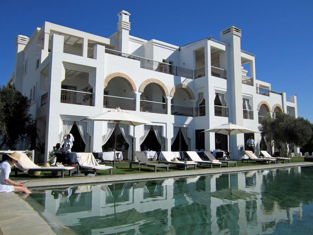 Le Riad Villa Blanche © Alain Angenost