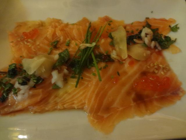 Carpaccio de saumon ©GP
