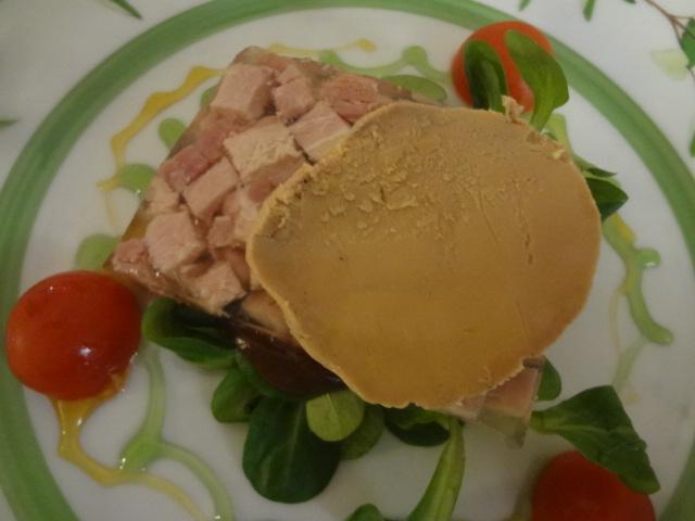 Presskopf et foie gras ©GP