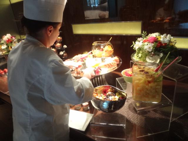 Buffet de desserts ©GP