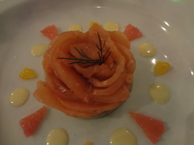 Saumon gravlax © GP
