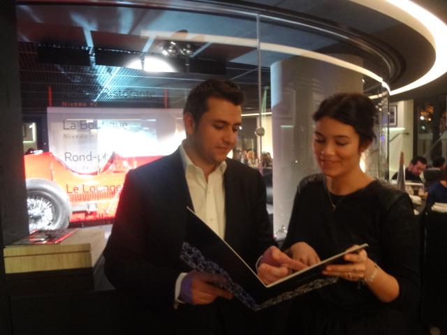 Sébastien Mancuso et Céline à l'accueil ©GP