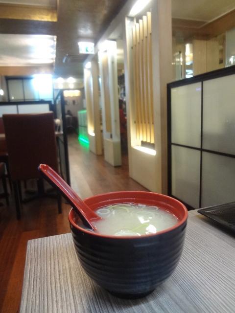 Soupe miso ©GP