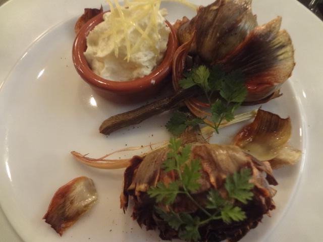 Artichauts frits à la romaine ©GP