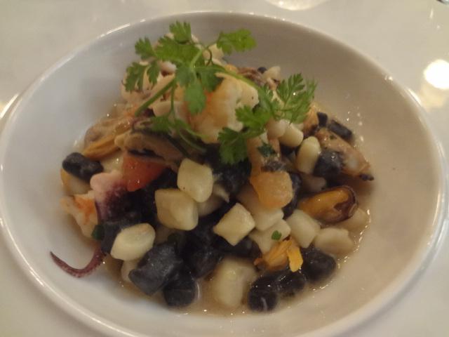 Gnocchi aux fruits de mer ©GP
