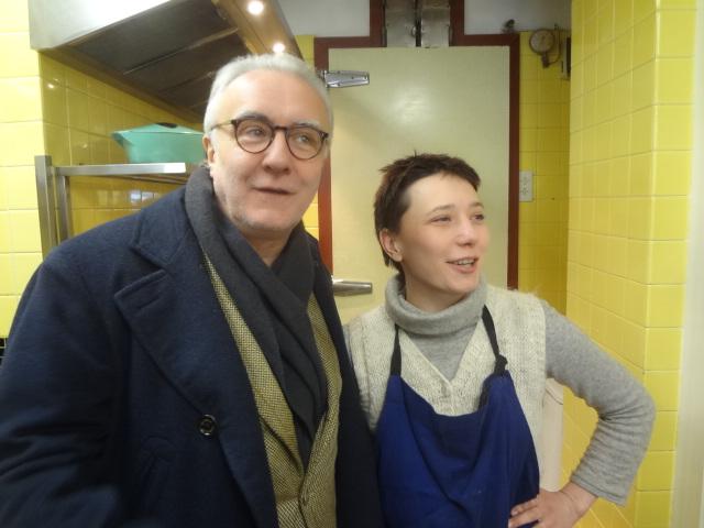 Alain Ducasse et Delphine Zampetti © GP