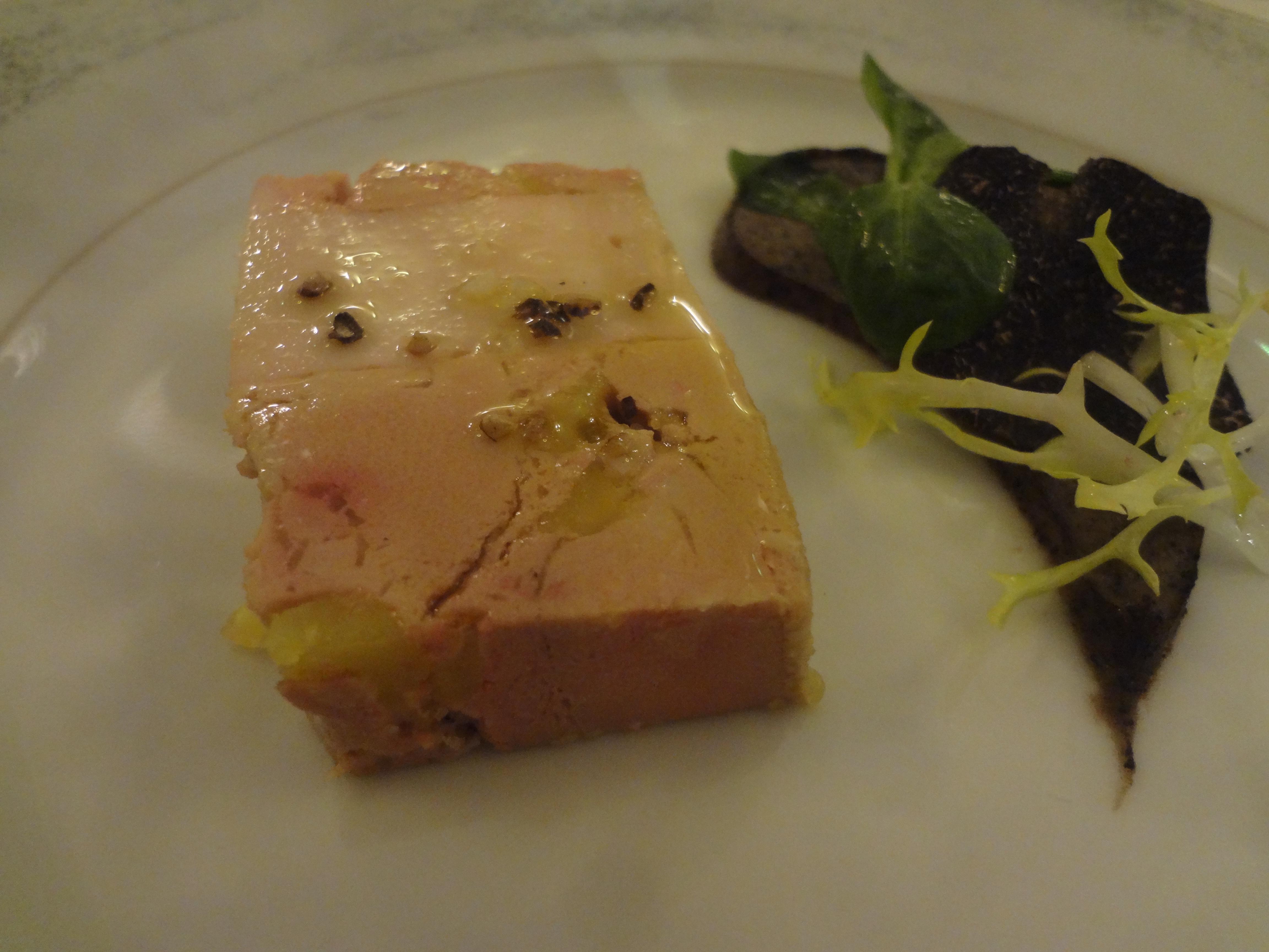 Pressé de volaille et foie gras ©GP