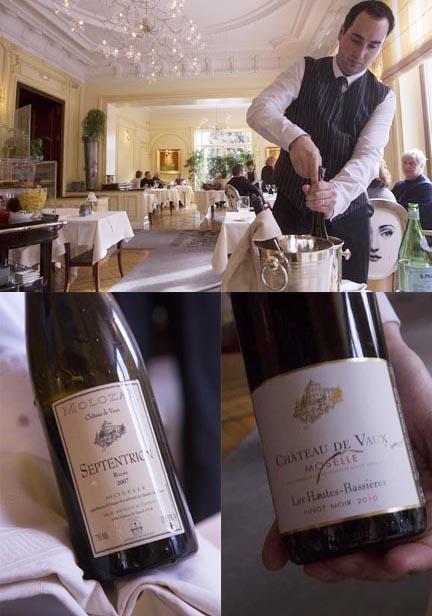 Service des vins ©Maurice Rougemont