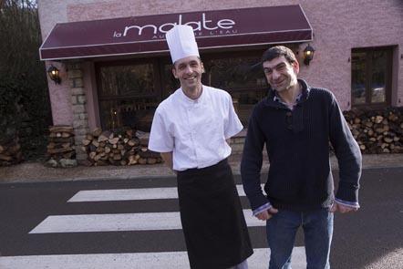 Gilles Gualano et Vincent Ritz ©Maurice Rougemont