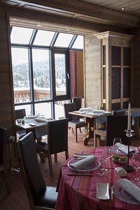 La salle à manger ©Maurice Rougemont
