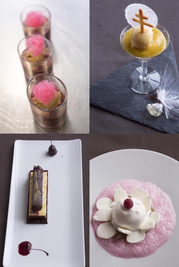 Les desserts ©Maurice Rougemont