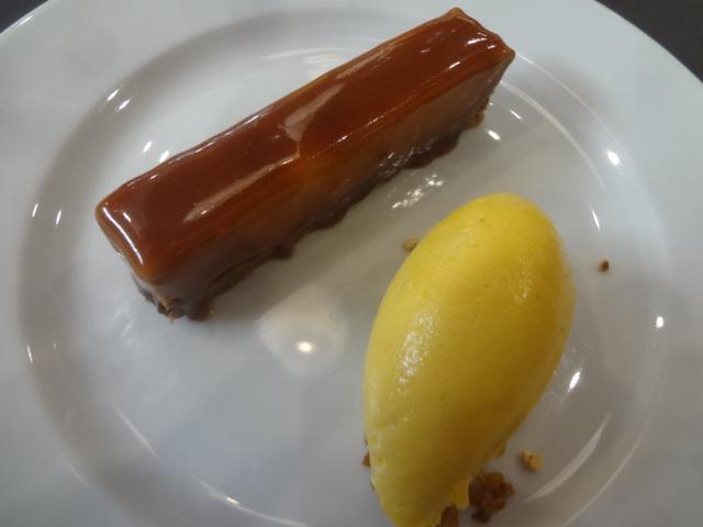 Dacquoise marron et chocolat ©GP