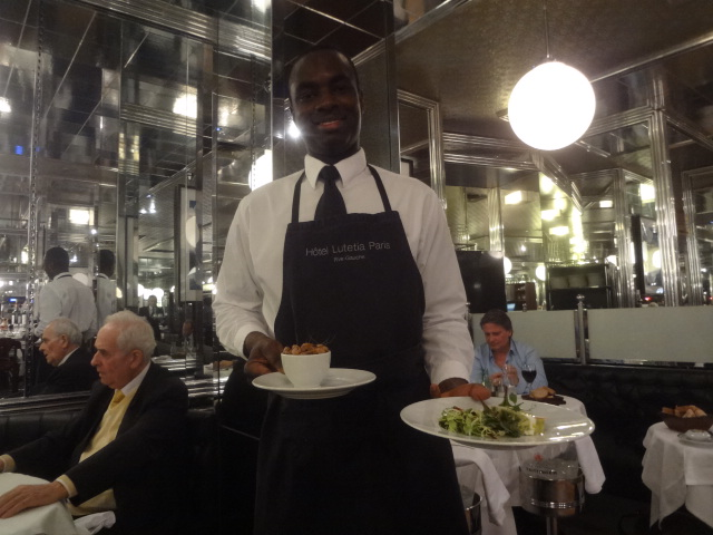 La brasserie du lut tia restaurant paris 6e un retour paris restaurants - Brasserie lutetia paris ...