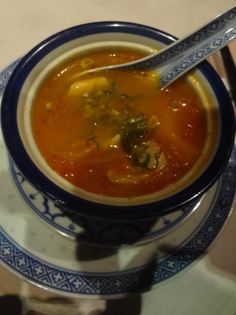 Soupe de poulet à la citronnelle © GP