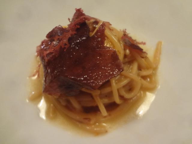 Spaghetti à l'oursin ©GP