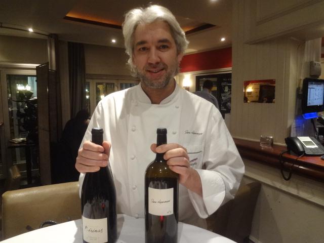 Pierre Négrevergne et ses vins ©  GP