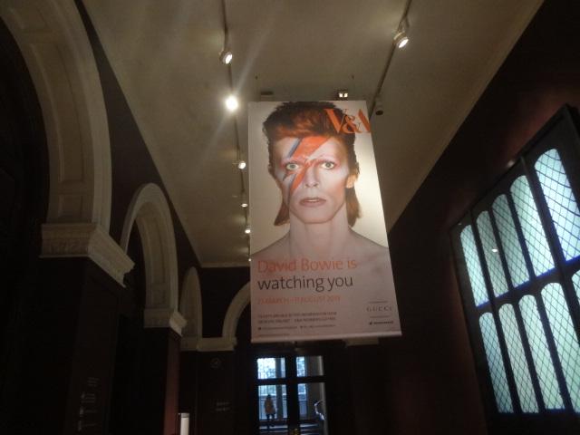 David Bowie, entrée de l'expo ©GP
