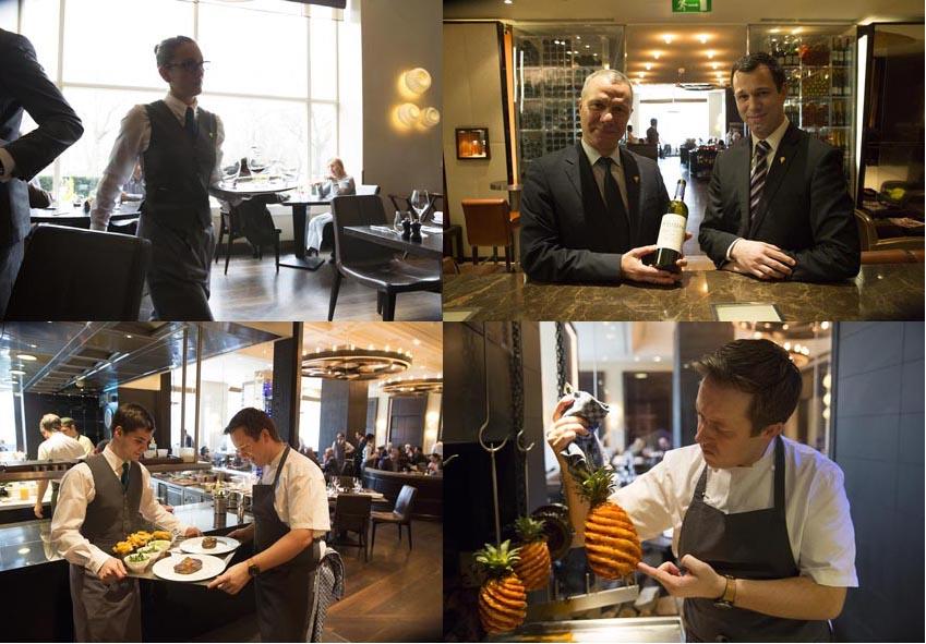 Service et cuisine © Maurice Rougemont