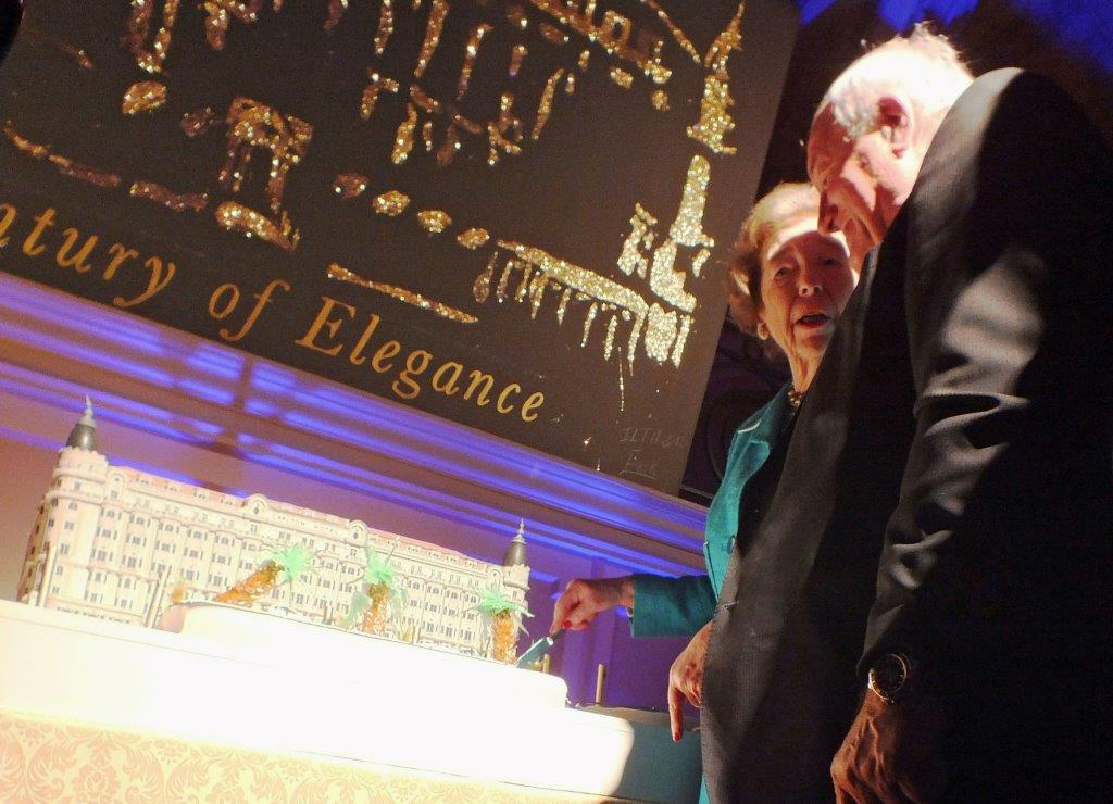 Lady Butter et Bernard Brochand ©AA