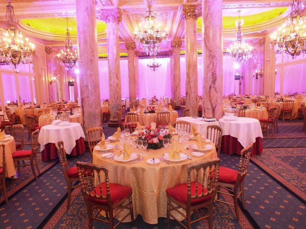 La salle du déjeuner du centenaire ©A.A.