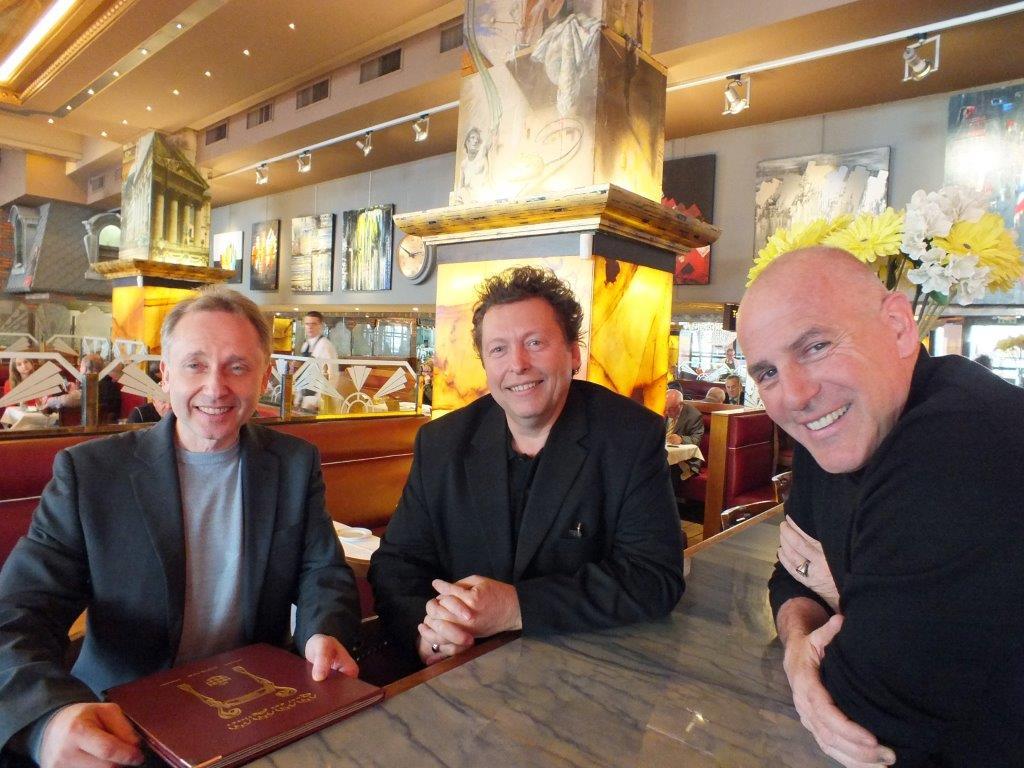 Alain, Pascal et Francis ©Alain Angenost