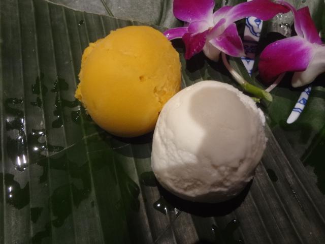 Sorbet mangue, coco © GP