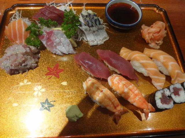 Sushis et sashimis © GP