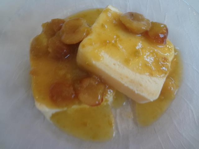 Soufflé glacé aux mirabelles © GP